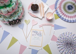 Pastelowa Miłość Baby Shower MINI EventBox